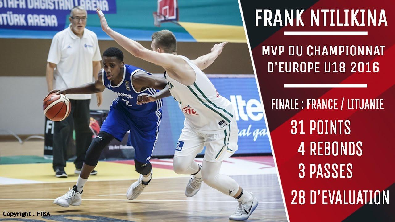 Highlights Frank Ntilikina - Finale championnat d'Europe U18