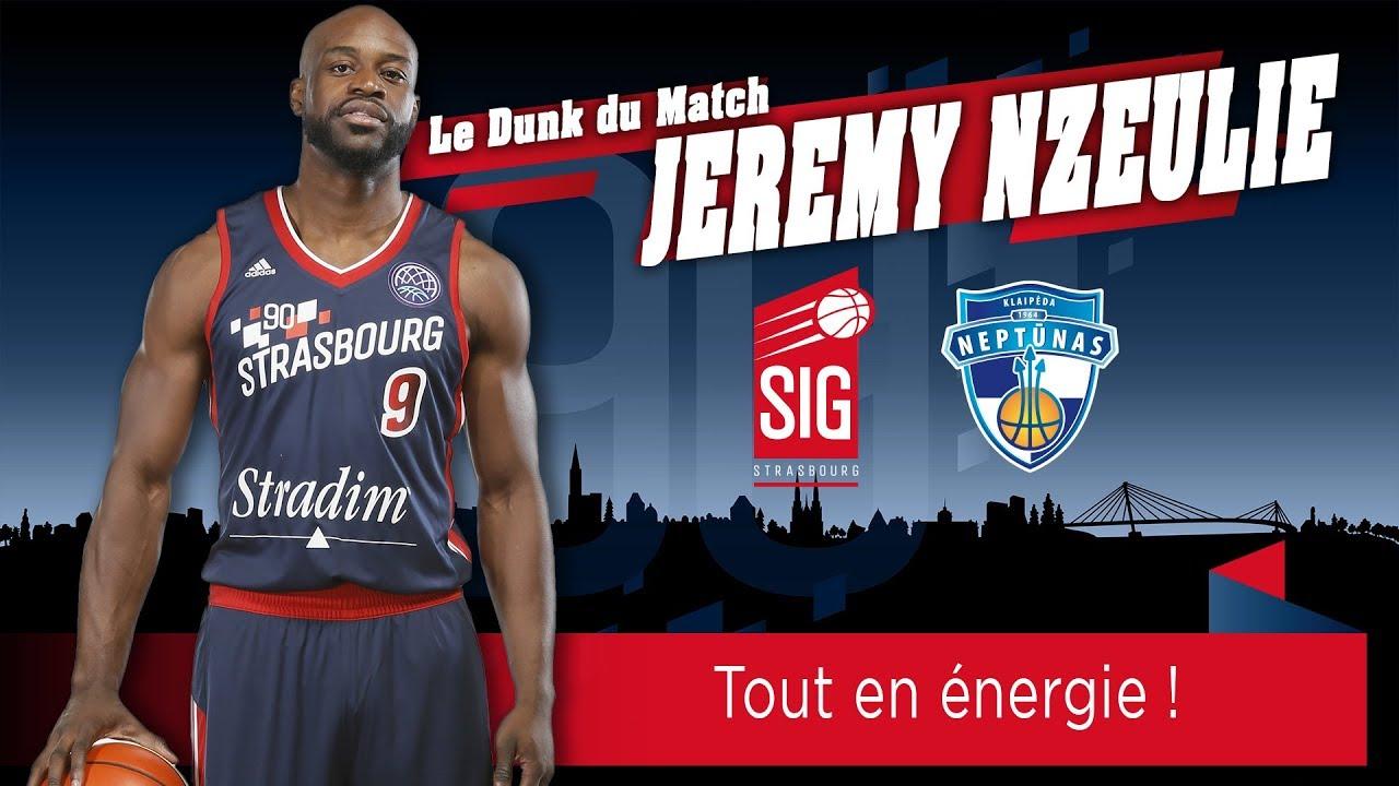 Le Dunk du match signé Jérémy Nzeulie