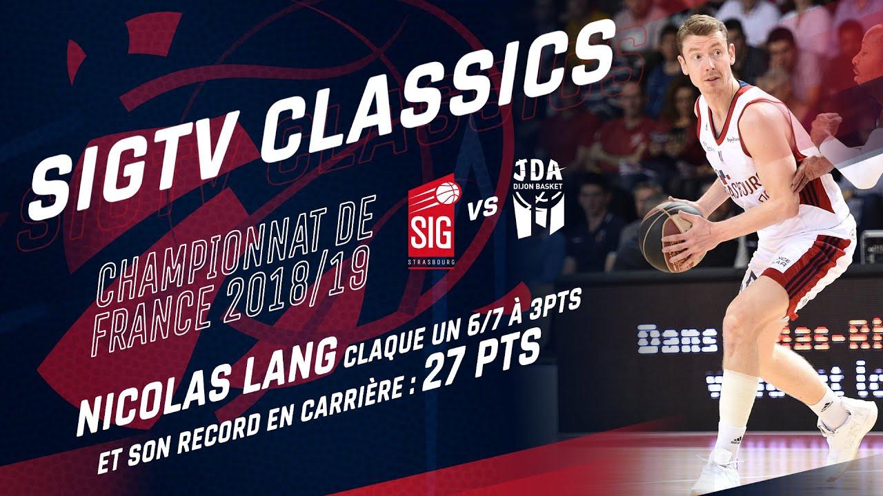 SIG Classics : Nicolas Lang prend feu face à Dijon (27pts)