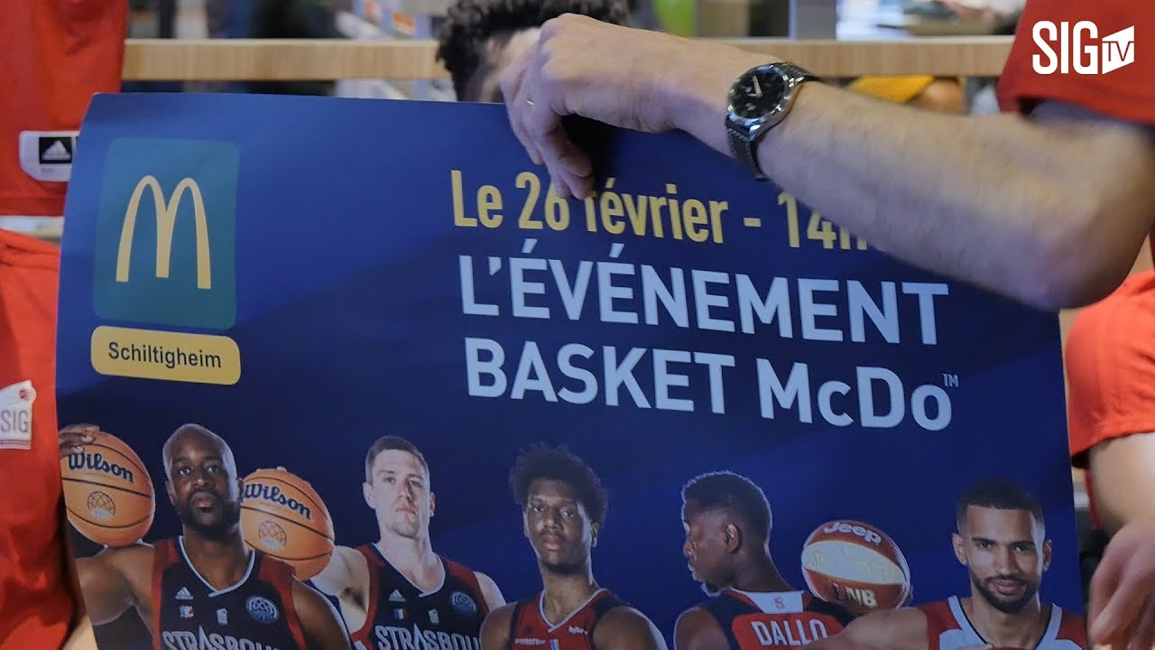 Les SIGmen à la rencontre de leurs fans chez notre partenaire McDonald's