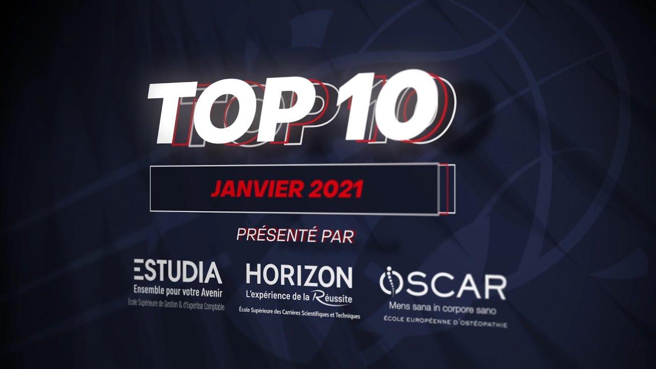 TOP 10 janvier 2021