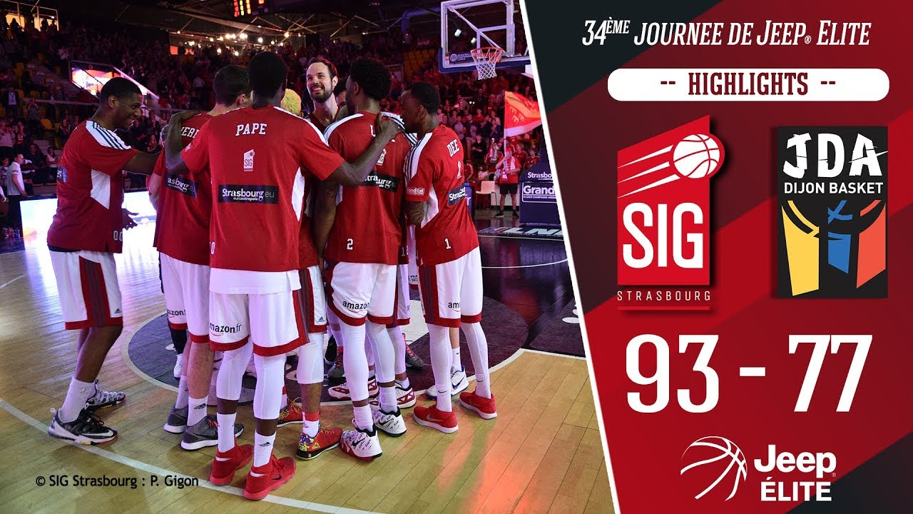 SIG Strasbourg-Dijon: highlights du match