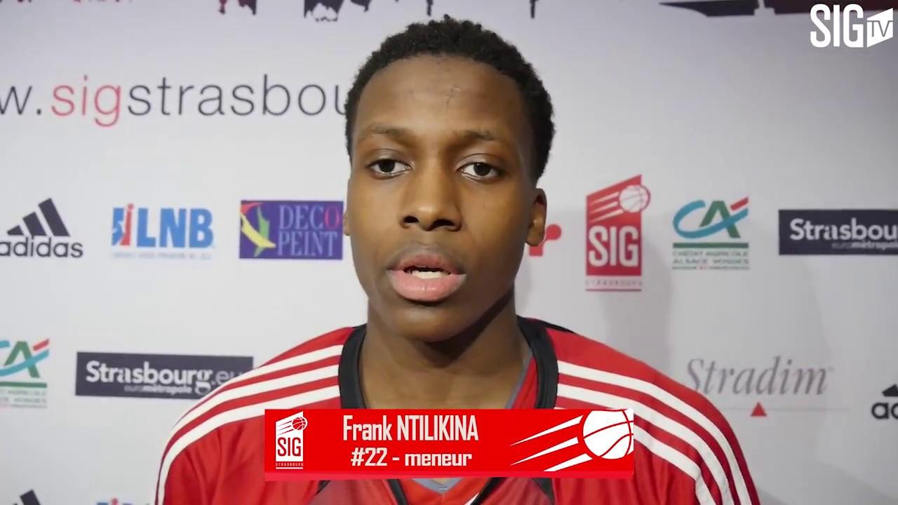 SIG Strasbourg/Châlons-Reims: résumé et réactions de Frank Ntilikina