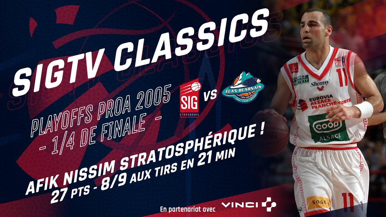 SIG Classics : Afik Nissim atomise Pau en Playoffs [2005]