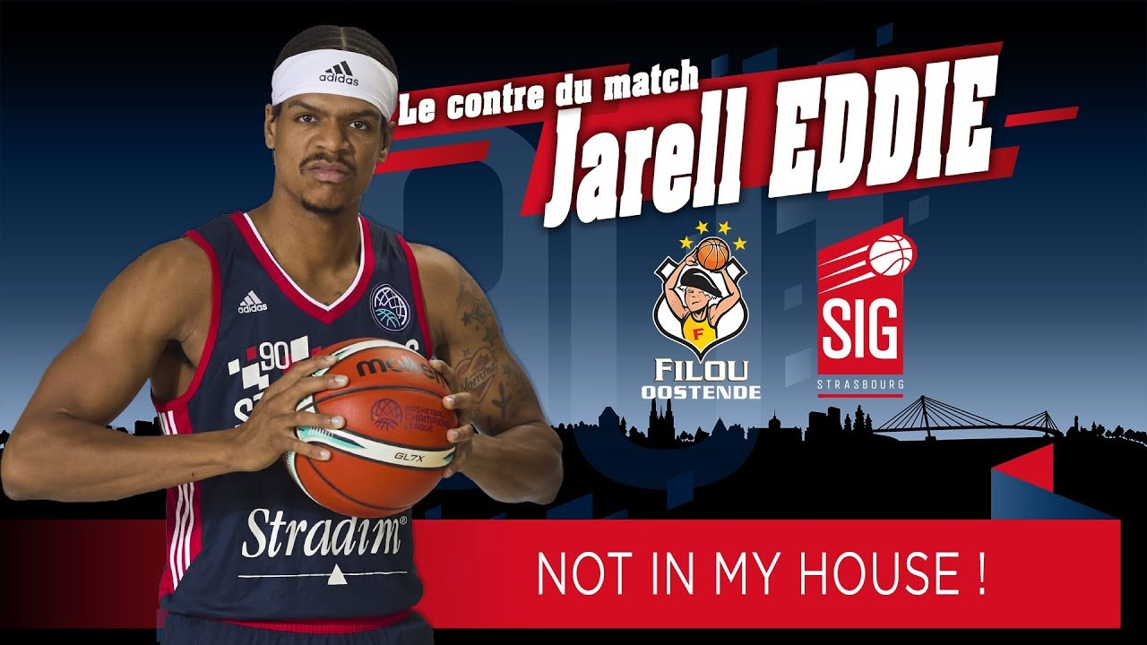 ⛔ Le contre du match Jarell Eddie: NOT IN MY HOUSE! ⛔