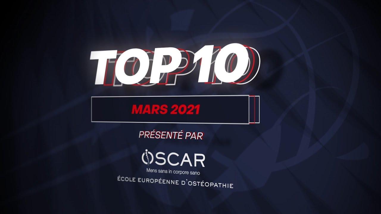 TOP 10 mars 2021