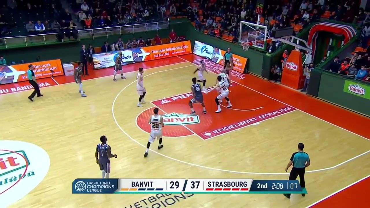 Highlights Banvit/SIG Strasbourg