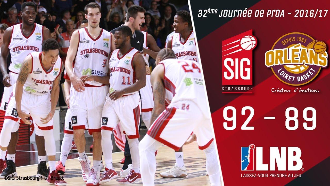 SIG Strasbourg / Orléans : les highlights du match