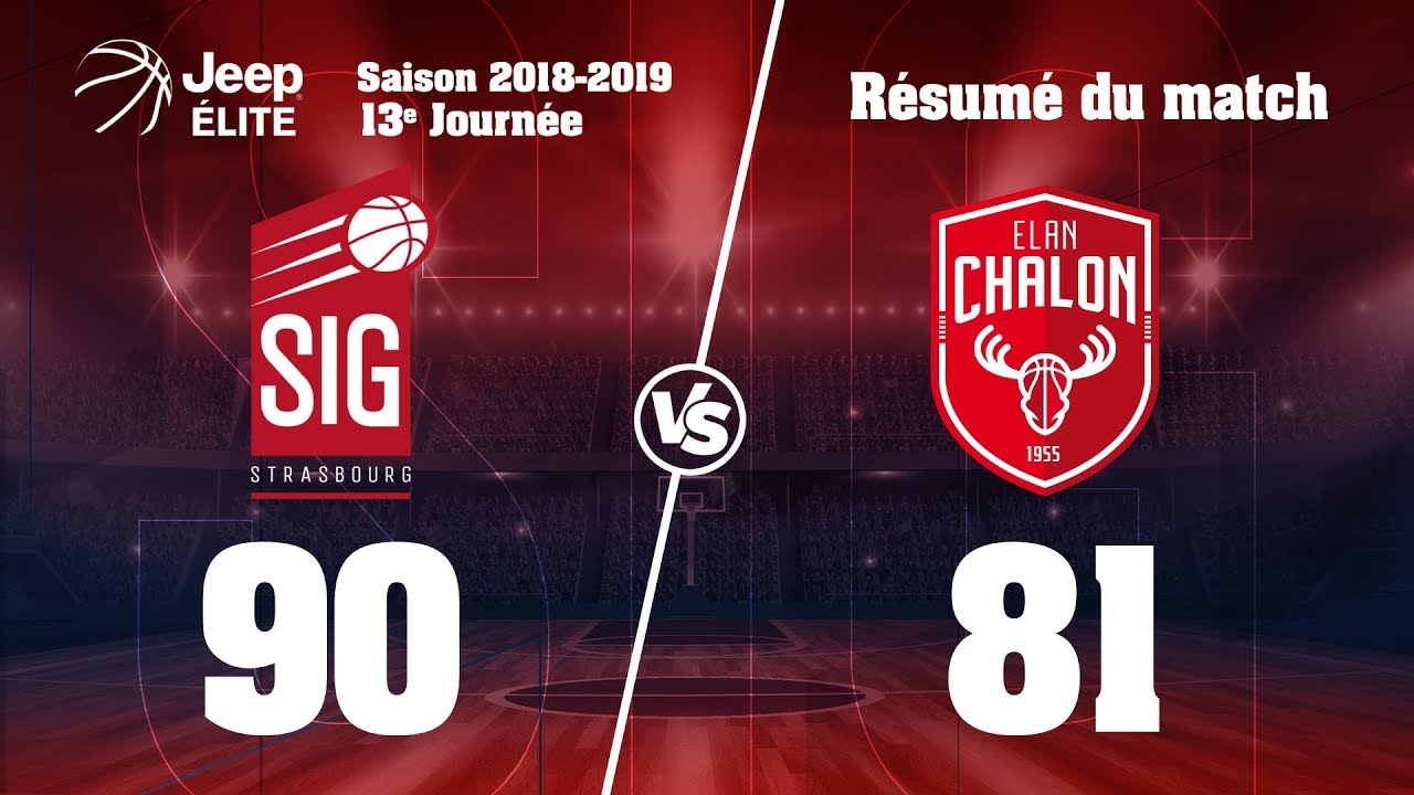 SIG Strasbourg-Chalon: highlights et réactions de Youssoupha Fall