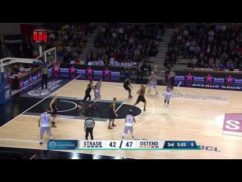 Highlights SIG Strasbourg / Telenet Oostende