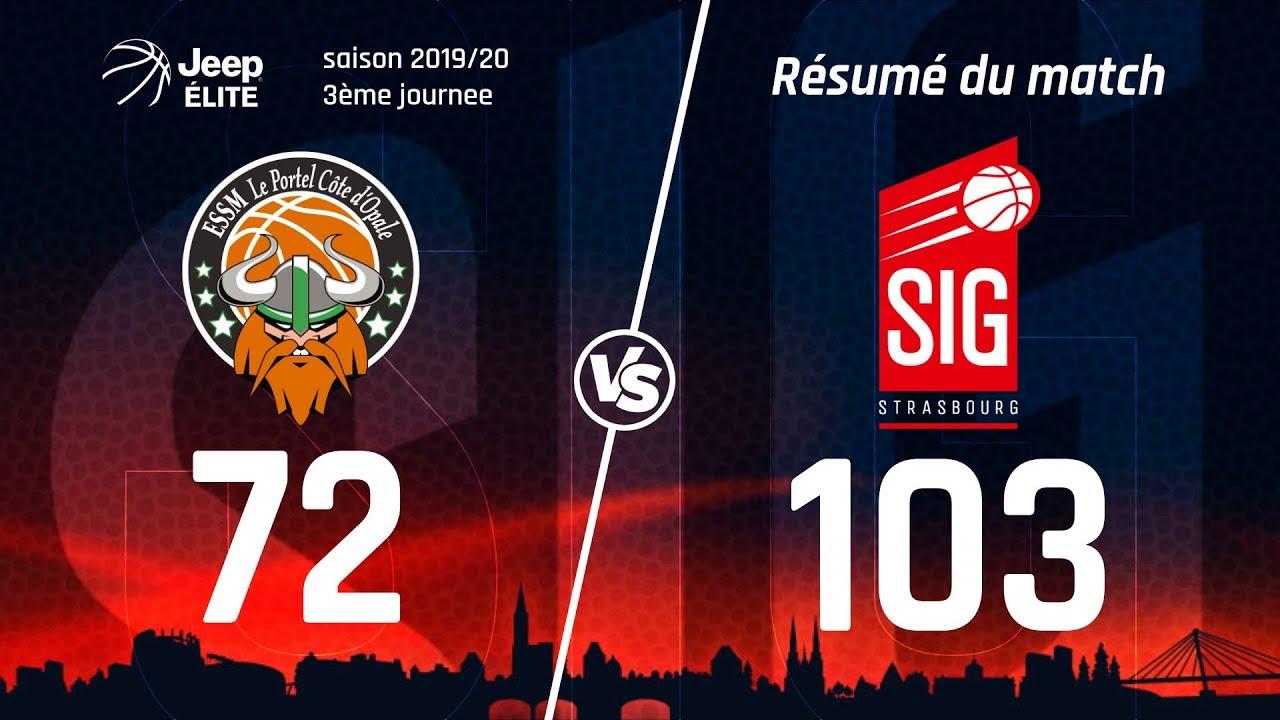Le Portel-SIG Strasbourg: les highlights du match